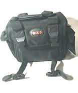 Focus Deluxe DSLR Soft Shell Digital Camera Case Accessory Bag New No Strap - $16.82