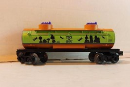 LIONEL- 30214- P EAN Uts HALLOWEEN- Trick Or Treat - Tank Car - 0/027 Scale - - $34.25
