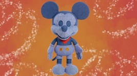BRAND NEW Train Conductor Mickey Mouse Disney Year of The Mouse Plush Ma... - $54.95