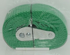 Progrip 512084 8 Foot by 1 inch Lashing Strap Green New in Package image 2
