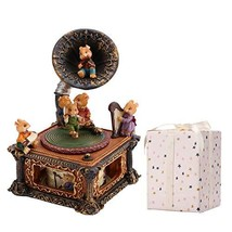 loveforyou Music Boxes for Women Girls Mechanical Classical Turntable Mu... - $64.06