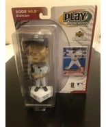 2002 MLB Edition Play Makers Derek Jeter Bobble Head With Card NY Yankee... - $23.38