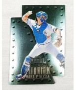 1997 Skybox Metal Universe Titanium #7 Mike Piazza Los Angeles Dodgers Card - $7.95
