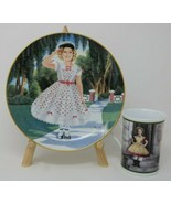 The Danbury Mint Shirley Temple Collector Plate & Mug The Little Rebel V... - $27.23