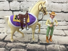 Fisher Price Loving Family Western Horse Pony Aspen Gold & Rider - $29.69