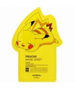 Tony Moly Pokemon Mask Pack Sheet 21g Pikachu with Free Shipping - $19.00