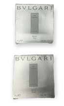 BVLGARI Eau Parfumee Au The Blanc White Tea Soap Lot of 2 Bars 1.76 oz T... - $23.99