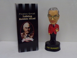 Bob Prince 2003 Pittsburgh Pirates SGA Talking Bobblehead Figure - $37.11