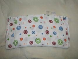Aden + Anais White Red Orange Green Blue Circle Polka Dot Muslin Cotton Blanket - $31.67