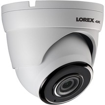 Lorex 4k 8-megapixel Ultra Hd Ip Dome Camera With Audio LORLKE383A - $219.32