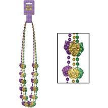 Mardi Gras Mask Beads, 48-Inch (3 Pack) - $8.54
