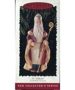 1995 Hallmark Keepsake Ornament - St Nicholas - 1st edition Christmas Vi... - $4.89