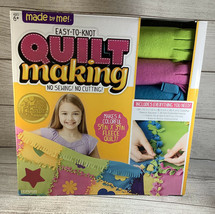 Easy To Knot Quilt Making Kit No Sew 6+ 59x39 Inches NEW - $10.00