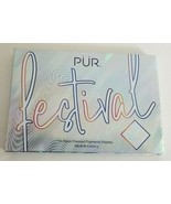 PUR FESTIVAL 2.0 - EYESHADOW PALETTE - Pressed Pigment - New in box - Fu... - $10.77