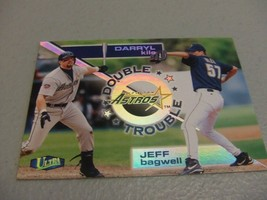 1998 Fleer Ultra Double Trouble #11 Jeff Bagwell/Darryl Kyle -Houston Astros- - $3.12
