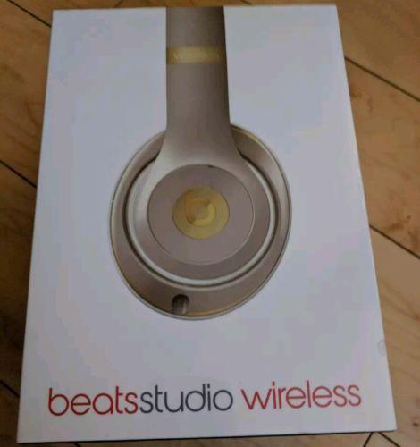 Sealed Beats Studio Wireless Over-Ear Headphones(GOLD)