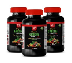 superfood tablets - ORGANIC GREENS COMPLEX - energy boosting vitamins 3B - $42.03