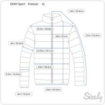 DKNY Sport Pullover 1/4 Zip Jacket, Size XL image 2