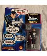 Marvel Super Heroes Electronic The Punisher Talks Action Figure ToyBiz 1... - $23.74