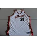 Vintage Rare Lebron James Cleveland Cavaliers NBA Reebok Adult 56 Sewn J... - $77.21