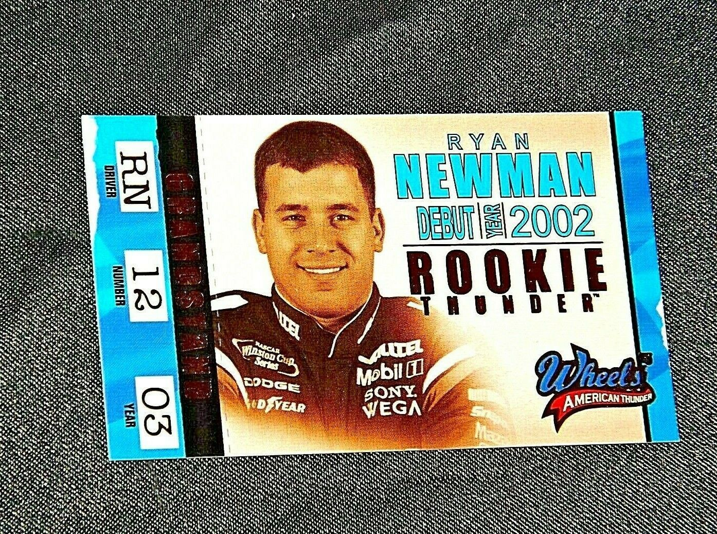 NASCAR Trading Cards - Ryan Newman AA19-NC8075