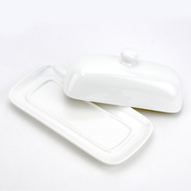 Porcelain Butter Dish, French Vintage Cute Country Butter Dish With Cove... - €14,82 EUR