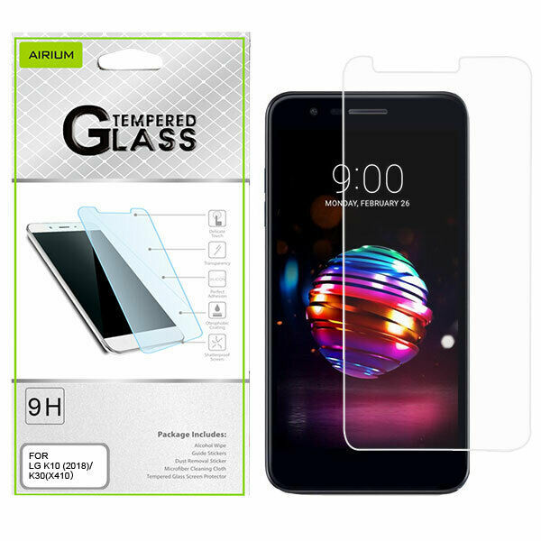 Primary image for LG K10 K30 Premier Pro Phoenix Plus Harmony 2 Tempered Glass Screen Protector
