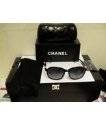 Chanel New Sunglasses 5217 c.501/3C Black Gray 56-16-135 3N authentic - $178.15