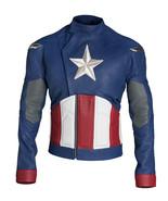 Avengers endgame captain america leather costume jacket 0 thumbtall