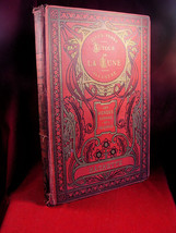 Autour De La Lune Illustre Jules Verne with Republique Francaise book plate - $735.00
