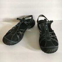 Jambu Womens All Terra Design Black Cherry Mesh Vegan Sandals 10 M - $35.50