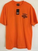 Harley-Davidson HD Men's Size L Orange T Shirt NEW NWT Phoenix Az Buddy Stubbs image 1