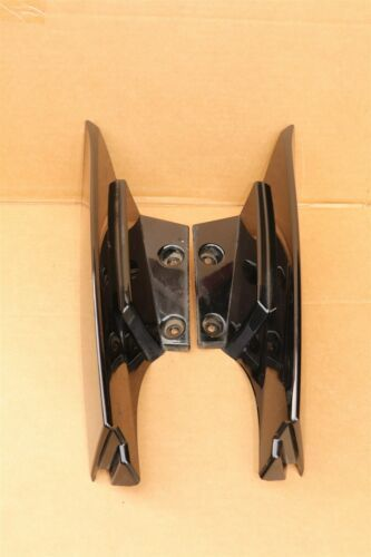 17-18 Nissan Rogue Rear Quarter Taillight Moldings Trims Extensions L&R