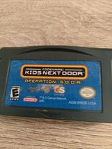 Nintendo Game Boy Advance GBA CodeName: Kids Next Door Operation S.O.D.A image 2