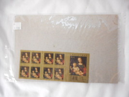 Luini's Madonna and Child Booklet of 20 U S Stamps Original Package - $10.64