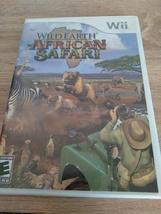 Nintendo Wii Wild Earth: African Safari ~ COMPLETE image 1