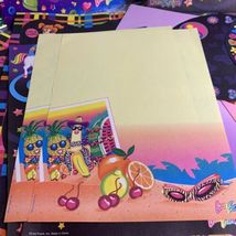 Lisa Frank Vintage Rare Stationery Lot Ice Cream Cleocatra Fruit Elephant Dream image 5