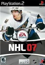 NHL 07 - PlayStation 2 - $7.91