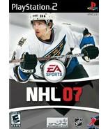 NHL 07 - PlayStation 2 - $8.90