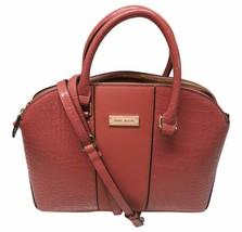 Anne Klein Purse Handbag Classic Curves Satchel Coral - $140.24