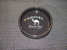 Camel 'Genuine Taste' Black Ceramic Ashtray - $18.95