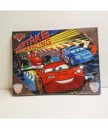Disney's Cars Wall Art by Idea Nuova. New sealed. LIght up canvas wall art  - $25.00