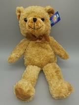 """Goffa Teddy Bear Plush NWT 14"""" Brown Bow Bear  Teddy - $15.00"""