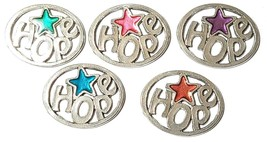 HOPE Fine Pewter Pendant Approx. 1-1/2 inches wide
