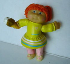 """1984 Cabbage Patch KidsYellow Dress with Ice Cream Moveable LIMBS 3.25"""" PVC - $2.92"""