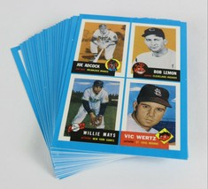 Vintage 1992 Topps Archive of Bazooka Gum Complete Set 1-22 Baseball Cards - $8.39
