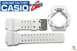 CASIO G-Shock GA-100A-7AW Original White Watch BAND & BEZEL Combo - $61.70