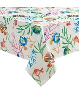 "Benson Mills Catalina Fish Undersea Indoor/Outdoor Tablecloth 84"" Oblong - $24.95"