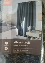 "allen + roth Yaman 50""x95"" Indigo Polyester Room Darkening Thermal Lined... - $44.55"