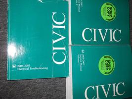 2006 06 Honda Civic Shop Repair Service Manual Set Factory Oem Books Dealership - $158.38
